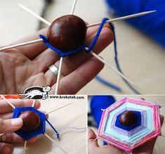 activites manuelles clsh - Page 4 - Basteln Kinder Yarn Crafts, Diy And Crafts, Crafts For Kids, Autumn Crafts, Nature Crafts, Kindergarten Projects, Autumn Decorating, Toddler Fun, Reggio Emilia