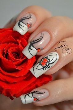 Kakine Nail Art VALENTINE #nail #nails #nailart