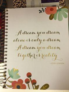 A Dream …