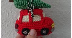 Crochet Christmas Ornaments, Christmas Knitting, Christmas Items, Christmas Angels, Christmas Crafts, Christmas Decorations, Crochet Pattern Free, Crochet Patterns, Crochet Car
