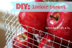 DIY Wire Baskets {get the look for less!} breidwithab.com