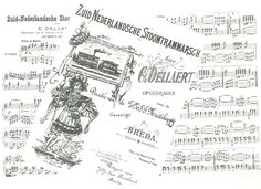 Compilatie van bladmuziek uit het archief van de BBA  Compilatie van bladmuziek uit het archief van de BBA