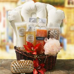 Spa Essentials Gift Basket