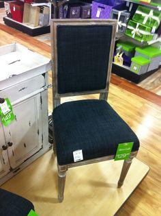 design dump: tj maxx goodies Charcoal Chair