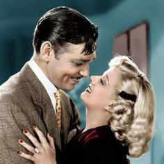 Gable with Jean Harlow