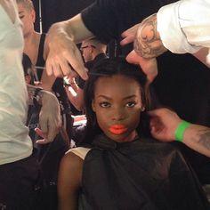 Faces of New York Fashion Week #MBFW #NYFW #Fashion #Backstage