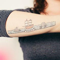 Tattly: Designy Temporary Tattos - Ahoy