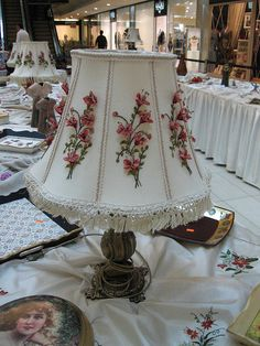 Lampshade inspiration. Gives me ideas!