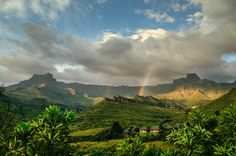 Rainbow over the Amphitheater in SA Photo by Kurt Crazy-Zebra — National Geographic Your Shot