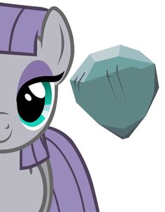 Maud Pie (Drawing by Unknown) My Little Pony Poster, Mlp My Little Pony, My Little Pony Friendship, Mlp Cutie Marks, My Little Pony Characters, Mlp Characters, Paw Patrol Coloring Pages, Rock Family, Little Poni