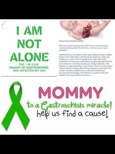 Gastroschisis awareness is today July 30th. Spread the word!!
