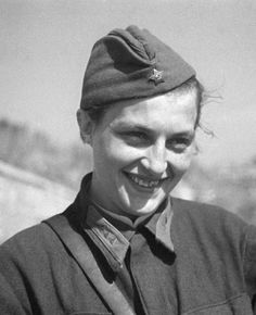 Soviet sniper Sergeant Ludmila Pavlichenko (1916-1974). With 309 confirmed kills, including 36 snipers, she was one of the very top Soviet snipers of WW2.She was seriously wounded in June 1942 and was withdrawn from the front line. In Oct 1943, she was awarded the title of the Hero of the Soviet Union, supreme recognition for bravery and prowess in combat with the enemy.