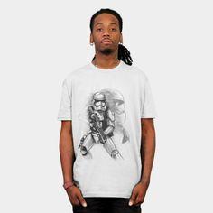 First Order Stormtrooper Sketch mens shirt http://geek.ragebear.com/f62tx