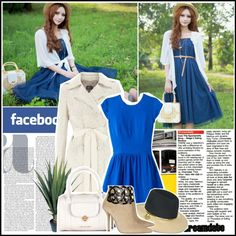 """""""facebook fashion"""" by yeemon ❤ liked on Polyvore"""
