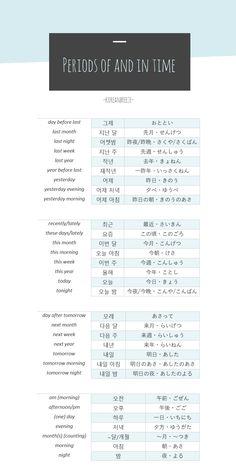 language o'clock — koreanbreeze:  PDF Version here  New version with...