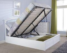 Arran Oak Ottoman Storage Bed   Oak Beds   Wooden Beds   Beds | Jati Holic  | Pinterest | Oak Ottomans, Ottoman Storage Bed And Ottoman Storage
