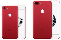 iPhone 7 dan iPhone 7 Plus Edisi Khusus dengan Corak Warna Merah menjadi Primadona saat ini