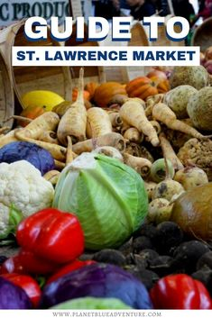 One of the top attractions in Toronto, Ontario is St. Lawrence Market, it's a foodies heaven! Here's your guide to Toronto's St. Lawrence Market. I things to do in Toronto I Canada travel I Ontario travel I what to do in Toronto I where to go in Toronto I places to visit in Toronto I Toronto attractions I places to go in Toronto I Toronto landmarks I places to go in Ontario I where to go in Ontario I Ontario attractions I #Toronto #Ontario #Canada Toronto Vacation, Toronto Hotels, Toronto Travel, Ontario Attractions, St Lawrence Market, Greece Food, Ontario Travel, California Food, Italy Food