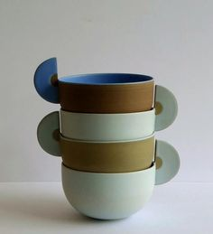 Image result for Helene Morbu – Tasse et sous-tasse (via L'Appartement, le bureau-bibliothèque, à la Galerie Collection - Ateliers d'Art de France, Paris, du 8 février au 30 mars 2013)