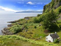 Enjoy a cottage holiday at Tigh Beg Croft. This secluded croft house set in 50 acres of grounds is surrounded by beautiful Highland countryside and has stunning views down the Firth of Lorn. Places To Travel, Places To See, Scotland Holidays, Romantic Cottage, Vacation Spots, Vacation Rentals, Vacation Ideas, Great Britain, Beautiful Places