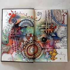 ART JOURNALING — (by Deb Weiers)