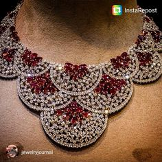 GABRIELLE'S AMAZING FANTASY CLOSET | Ruby & Diamond Necklace