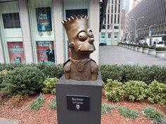 Als ich die Simpsons in New York traf.