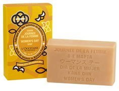 Every year, in March, L'OCCITANE sells in its stores a soap produced in co-development with the women of a craft soap factory in Burkina Faso. 100% of benefits are donated to the L'OCCITANE Foundation to support projects for the economic emancipation of women in this country.  www.foundation.loccitane.com