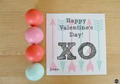 XO #ValentinesDay Chapstick #Printable   http://sliceofsouthernpie.com