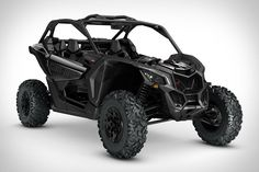 "Powered by an all-new 154 hp turbocharged Rotax engine, the Can-Am Maverick X3 ATV is far from your average four-wheeler. This side-by-side is capable of hitting 60 mph in just 4.9 seconds, and has a lightweight, welded chassis that's 12"" longer for great handling."