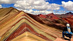 Rainbow Mountain an incredible sight located in the south central mountains of Peru is a must see...