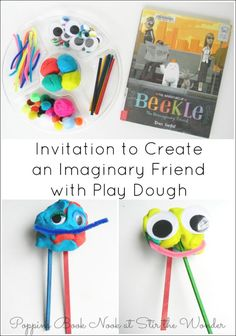Invitation to Create an Imaginary Friend with Play Dough