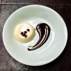 Panna Cotta Con Cioccolato E Caffè @ D'olivino Restaurante & Empório