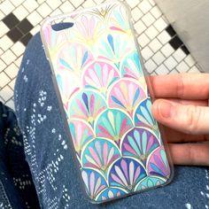 Hard plastic iPhone 6 case with beautiful bohemian print!