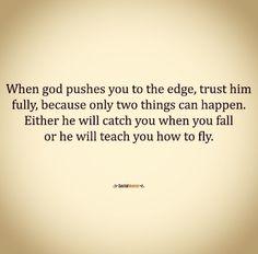 Let God do the rest