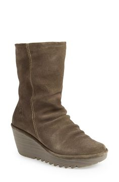 Fly London wedge boot