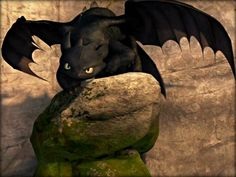 Toothless ☆ - How to Train Your Dragon Wallpaper (33059192 ...