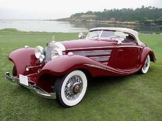 Mercedes-Benz 540K Special Roadster • 1935 by anne
