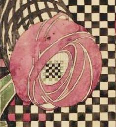 """Millside Rose"" Painting by Mackintosh"