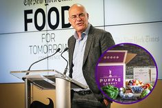 Mark Bittman Jumps From the Opinion Page to Vegan Meal-Delivery Start-Up:   The Purple Carrot will feature recipes developed by the author's team, and the business is expanding beyond feeding people healthy food.