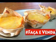Santa Receita   Faça e Venda: cestinha de natal com massa de pastel por Simone Moura - - YouTube