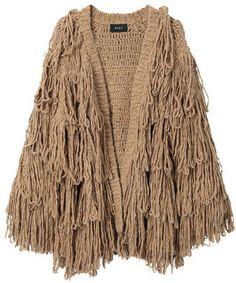 ShopStyle: G.v.g.v. Blush Knit Jacket
