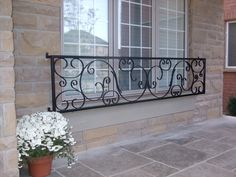 Exterior Iron Railings | Custom Wrought Iron Design and Fabrication