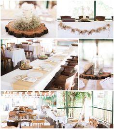 Beautiful, rustic reception styling from a recent Esk wedding. | Brisbane, Sunshine Coast and Gold Coast wedding photographer