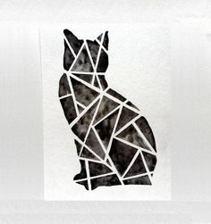 water color cats - Google Search