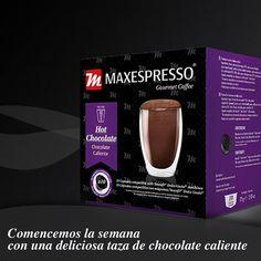Disfruta de una riquísima taza de chocolate caliente con nuestras cápsulas de sabor //  Lets drink some hot chocolate to start the day