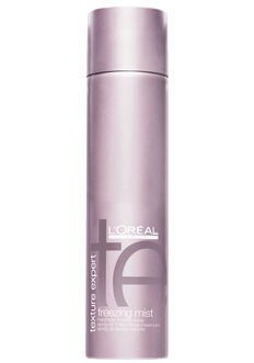 L'Oreal Texture Expert Hair Care Freezing Mist Hard Hold Finishing Spray