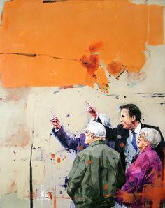 """Saatchi Art Artist MARTINHO DIAS; Painting, """"Circumstance #10"""" #art"""