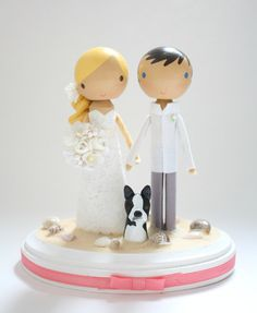 custom wedding cake topper - order for - LACBC5