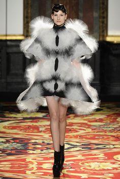 Iris van Herpen Spring Couture 2013 - Slideshow - Runway, Fashion Week, Reviews and Slideshows - WWD.com